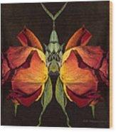 Burlesque Wood Print