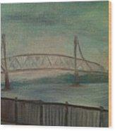 Burlington Bristol Bridge Wood Print