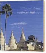 Burma Myanmar, White Minochanthar Wood Print