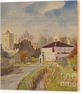 Burmarsh  Kent Uk Wood Print