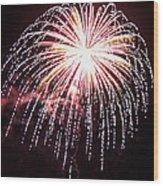 4th Of July Fireworks 9 Wood Print