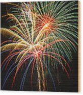 Bursting In Air Wood Print