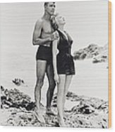 Burt Lancaster In From Here To Eternity  Wood Print