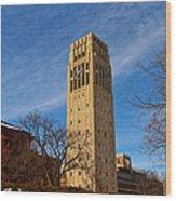 Burton Memorial Tower Wood Print