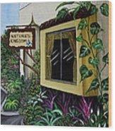 Busch Gardens Scene Wood Print