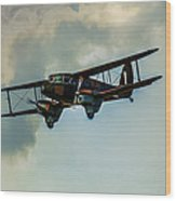 Business Class Travel In The 1930s Wood Print