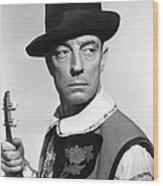 Buster Keaton, Columbia Portrait, Circa Wood Print