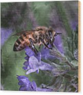 Busy As A Bee Wood Print by Jeff Swanson
