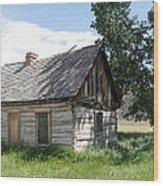 Butch Cassidy Childhood Home Wood Print