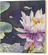Butchart's Lily Wood Print
