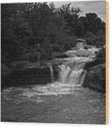Butcher Falls Wood Print