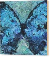 Butterfly Art - D11bl02t1c Wood Print