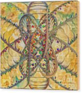 Butterfly Concept Wood Print
