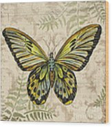Butterfly Daydreams-a Wood Print
