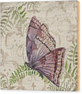 Butterfly Daydreams-b Wood Print