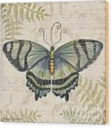 Butterfly Daydreams-d Wood Print