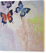 Butterfly Dream Wood Print