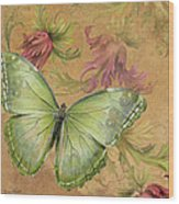 Butterfly Inspirations-a Wood Print