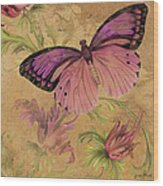 Butterfly Inspirations-d Wood Print