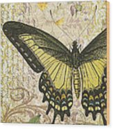 Butterfly Kisses-c Wood Print