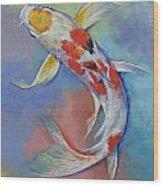 Butterfly Koi Fish Wood Print