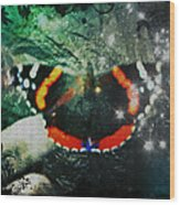Butterfly Magick Wood Print