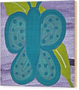 Butterfly Wood Print by Melissa Dawn