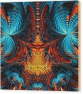 Butterfly Plasma  Wood Print