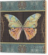Butterfly Tapsetry-jp2197 Wood Print