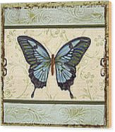 Butterfly Trio-3 Wood Print
