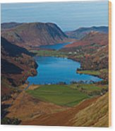 Buttermere View Wood Print