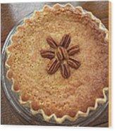 Buttermilk Pecan Pie Wood Print