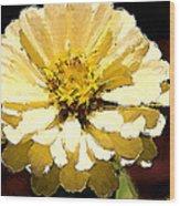 Buttermilk Yellow Wood Print