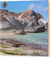 Bvi Paradise Wood Print