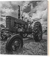 Bwcday4 Tractors Wood Print