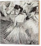By Degas Wood Print