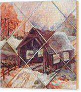 By Gone Bridge Wood Print
