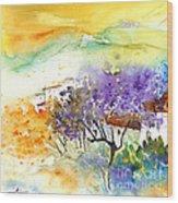 By Teruel Spain 01 Wood Print