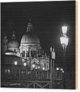 By The Dome - Venice Wood Print