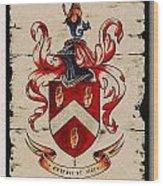 Byrne Coat Of Arms Wood Print