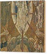 Byzantine Icon Depicting The Transfiguration Wood Print