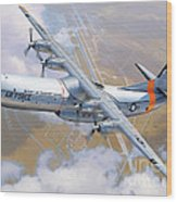 C-133 Cargomaster Over Travis Wood Print