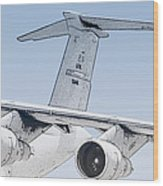 C-17 Globemaster Wood Print