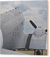 C-47 3880 Wood Print
