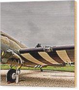 C-47 Snafu Special Wood Print