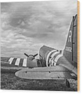 C-47-w7 7d06b Wood Print