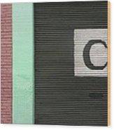 C  Wood Print