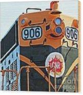 C N R Train 906 Wood Print