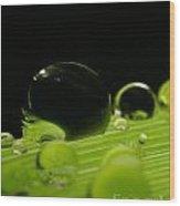 C Ribet Orbscape Water Soul Wood Print by C Ribet