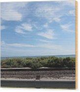 Ca Beach - 121212 Wood Print